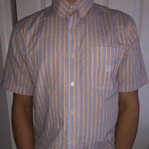 Chaps Short-Sleeve Button Down